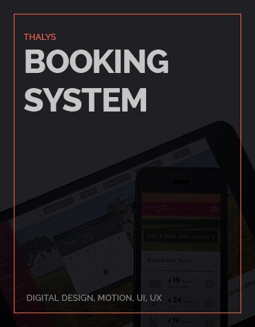 Thalys Booking concept