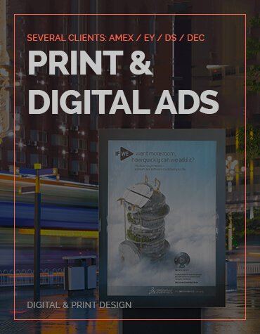 Print & Digital Ads